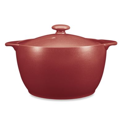 Noritake® Colorwave Raspberry 2-Quart Covered Casserole Dish