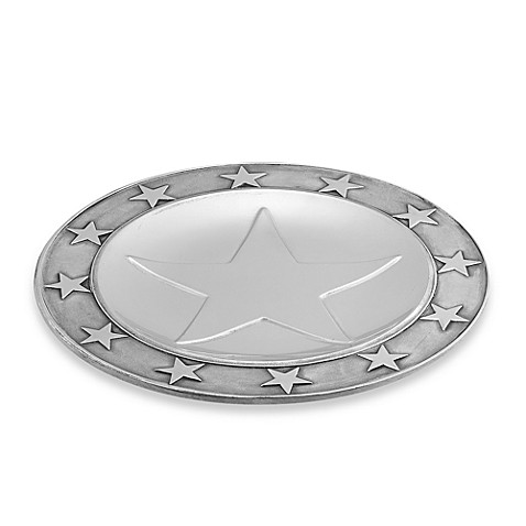 Wilton Armetale® Stars Large Round Tray