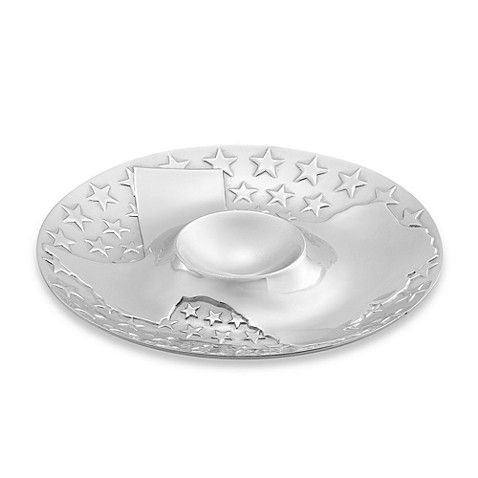 Wilton Armetale® Texas Chip and Dip Server
