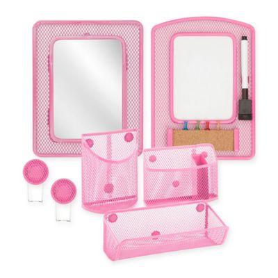 Buy pink desk accessories from bed bath beyond - Pink desk organizer ...
