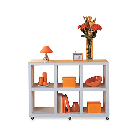 Organize It All Dawn Collection 6-Section Bookshelf