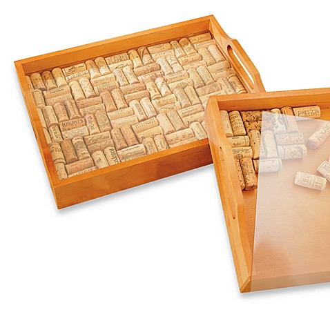 Wine Enthusiast Wine Cork Tray Kit