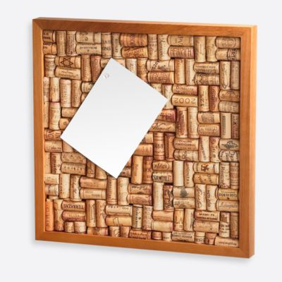 Wine Enthusiast 16-Inch x 16-Inch Cork Board Kit