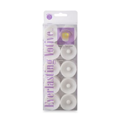 Everlasting™ Battery-Operated Votive Candles (Set of 10)