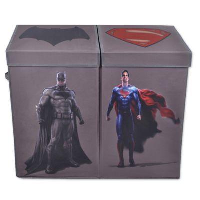 Buy batman vs superman superman folding laundry hamper from bed bath beyond - Batman laundry hamper ...