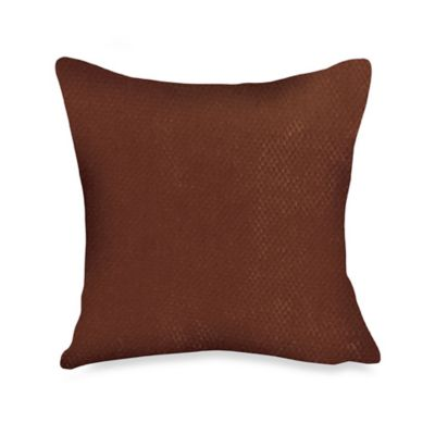 Stretch Pique Chocolate Pillow by Sure Fit®