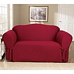 Cotton Duck Claret Slipcovers by Sure Fit®