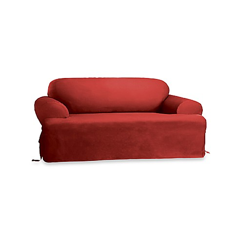 Buy Sure Fit Duck Supreme T Cushion Sofa Slipcover In