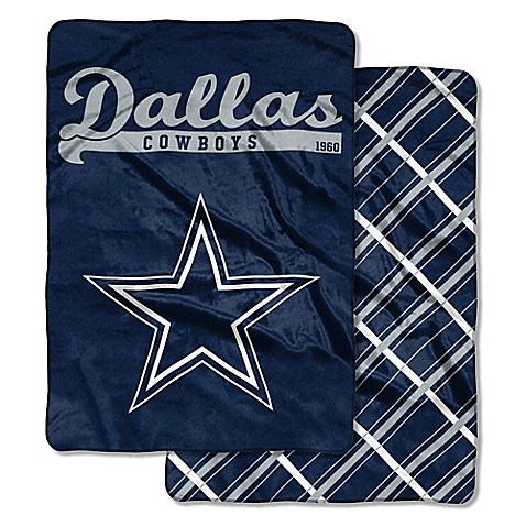 Nfl Dallas Cowboys Quot Glory Days Quot Cloud Throw Blanket By The