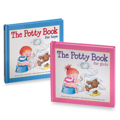Potty Book for Boys and Potty Book For Girls - from Barron's Educational Series