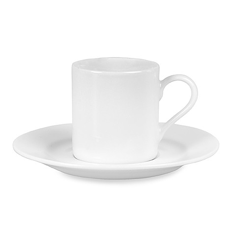 Everyday White® Rim Demitasse (Set of 4)