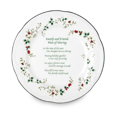 """Pfaltzgraff® Winterberry """"Family and Friends Plate of Sharing"""""""