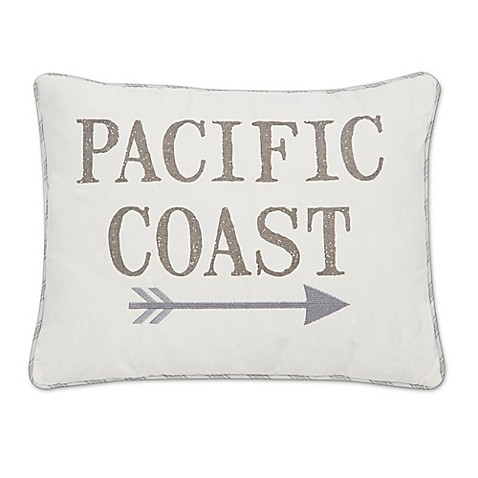 levtex home nantucket quotpacific coastquot throw pillow in With bed bath and beyond pacific coast pillows