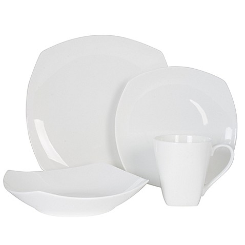 Fitz and Floyd® Nevaeh Soft Square Dinnerware Collection