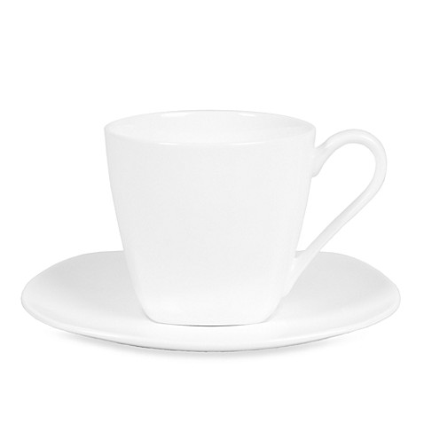 Fitz and Floyd® Nevaeh 10-Ounce Square Cup and 6.37-Inch Saucer