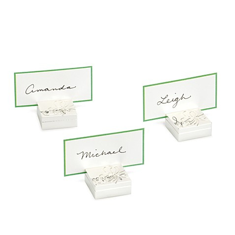 kate spade new york Belle Boulevard Metal Place Card Holders (Set of 4)