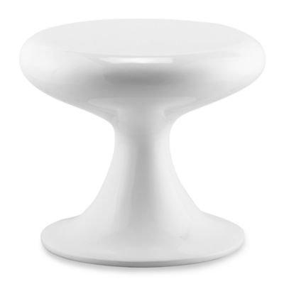 Mushroom Chair in White