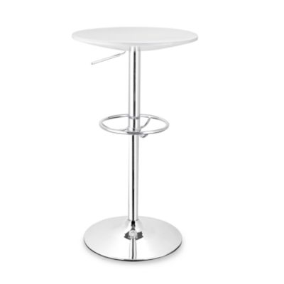 Martini Bar Table in White
