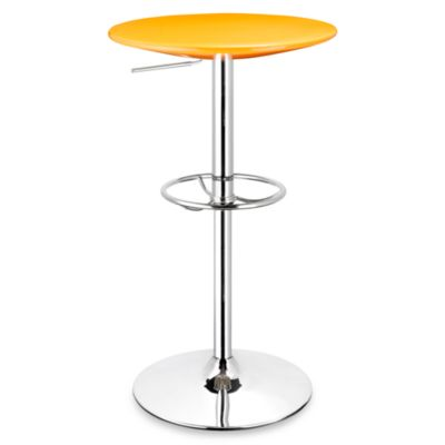 Zuo® Martini Bar Table in Orange