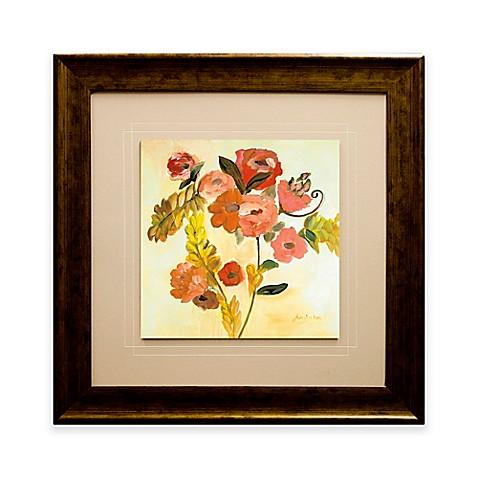 romance bouquet framed wall art bed bath beyond. Black Bedroom Furniture Sets. Home Design Ideas