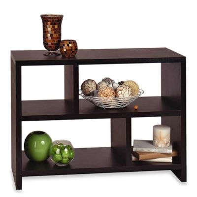Bookshelf Console Table