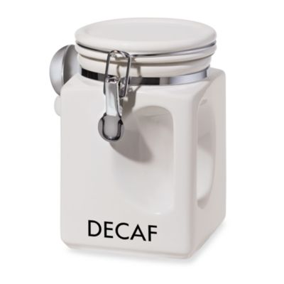 Oggi™ EZ Grip Decaf Coffee Canister