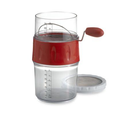 prepworks® Measuring Flour Sifter