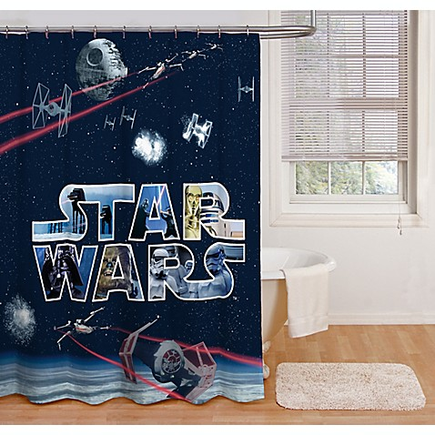 Star Wars Space Battle 72 Inch Shower Curtain Www