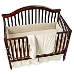 Organic Cotton Velour 4-Piece Crib Set in Natural