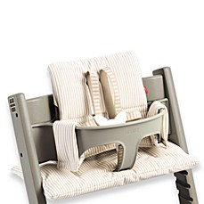 STOKKE® Tripp Trapp®  Highchair Cushion in Beige Stripe