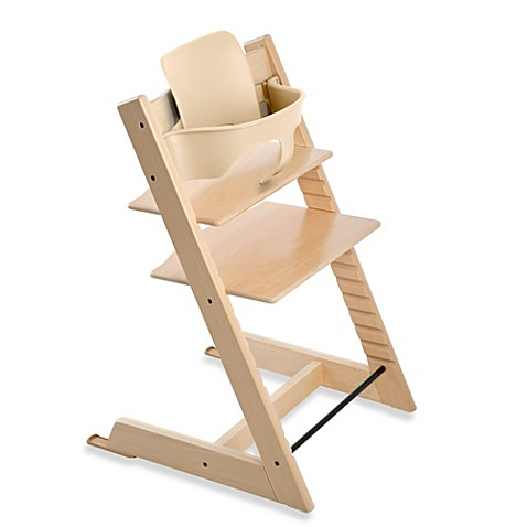 stokke tripp trapp baby set in natural bed bath beyond. Black Bedroom Furniture Sets. Home Design Ideas