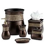 India Ink Morillo Boutique Tissue Holder in Tuscan Gold