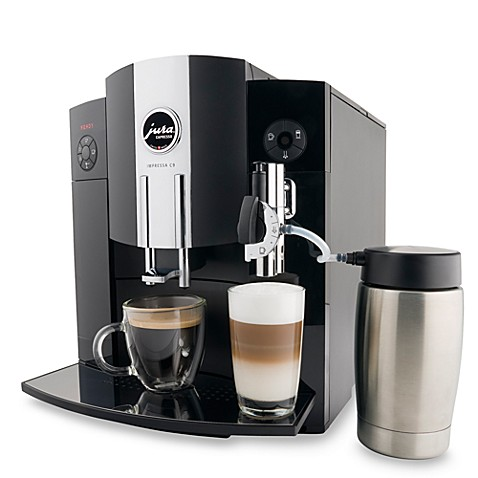 Jura® 13422 Impressa C9 One Touch Automatic Espresso Machine and Coffee Center