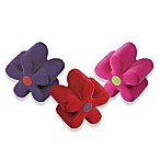 Mini Plush Flower Ottoman