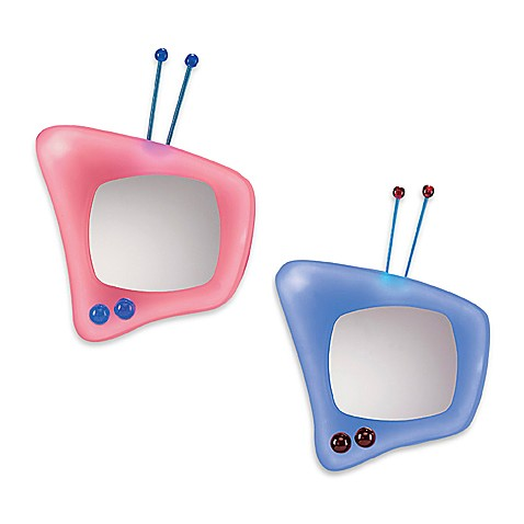 Retro television wall mirror bed bath beyond for Tlvision miroir