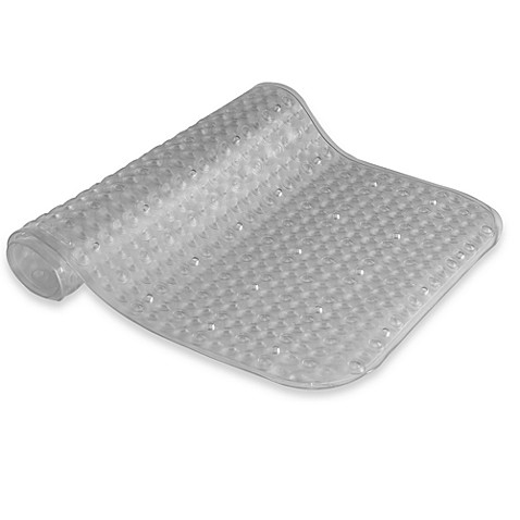 3D Clear Tub Mat