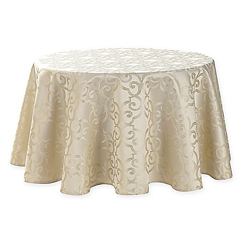 Buy Waterford 174 Linens Sorelle 70 Inch Round Tablecloth In