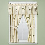 Port of Call Bathroom Window Curtain Pair by Croscill