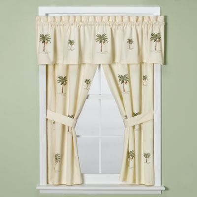 Buy Palm Tree Window Valances From Bed Bath Amp Beyond