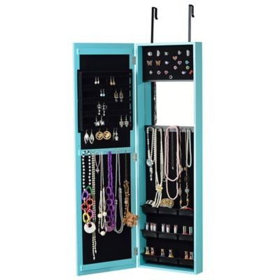 Jewelry Armoire in Turquoise