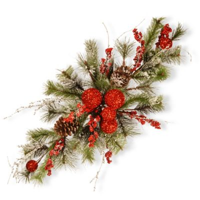 National Tree Company 32-Inch Christmas Centerpiece