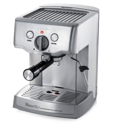 Handleiding Daalderop Professional Coffee Maker : Espressione Cafe Minuetto Die-Cast Professional Espresso and Cappuccino Maker - Bed Bath & Beyond