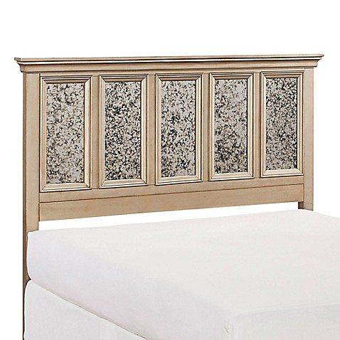 Buy Home Styles Visions Queen Headboard In Silver From Bed