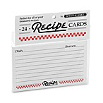 3-Inch x 5-Inch Recipe Cards (Set of 2)