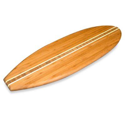 Totally Bamboo Surf Board Cutting Board
