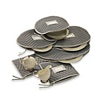 Microfiber Dinnerware Accessories Storage Cases (Set of 6)