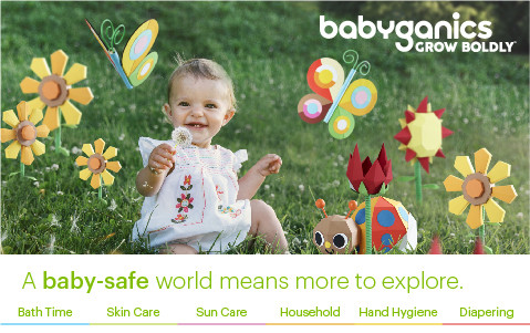 A baby-safe world means more to explore.