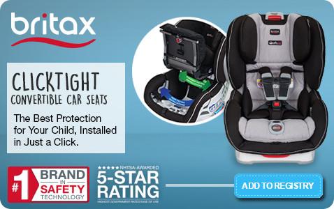 Britax Clicktight Convertible Car Seats - Add to Registry