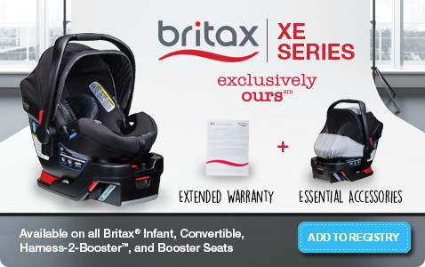 Britax XE Series Infant Car Seat - Add to Registry