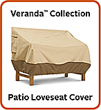 Classic Accessories Veranda Collection - Patio Loveseat Cover